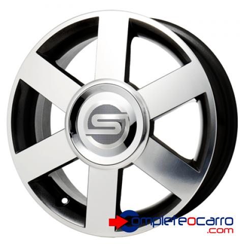 Jogo de rodas Aro 15' Scorro S181