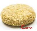 Boina de Lã Polidora Dupla Face 3M Super Macia (Amarela)