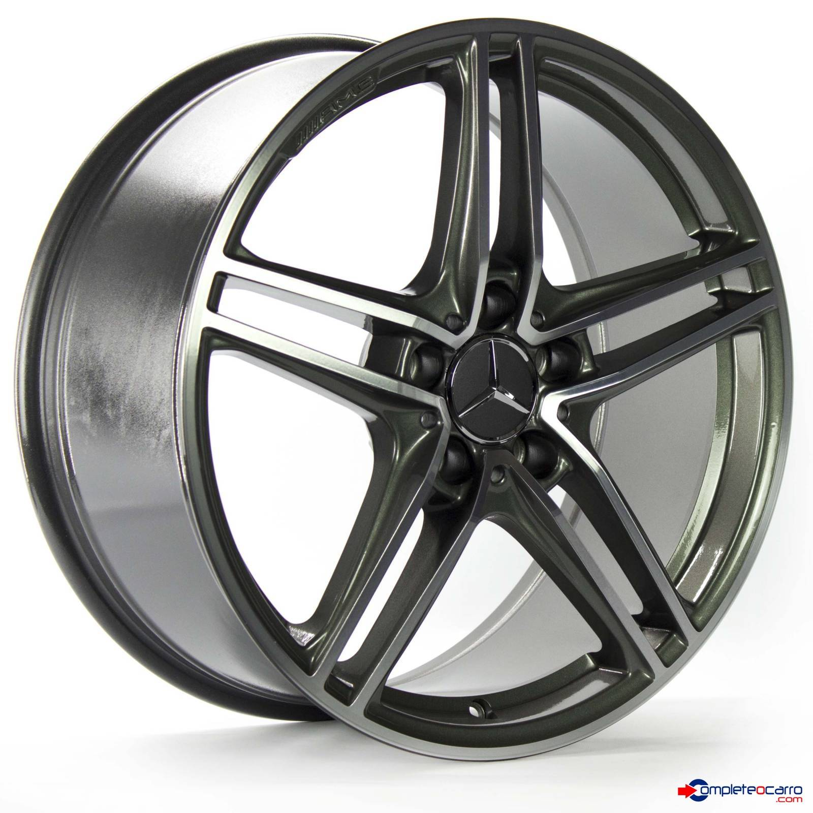 Jogo de Rodas Aro 18' 5x112 Mercedes AMG GT Roadster - DG -