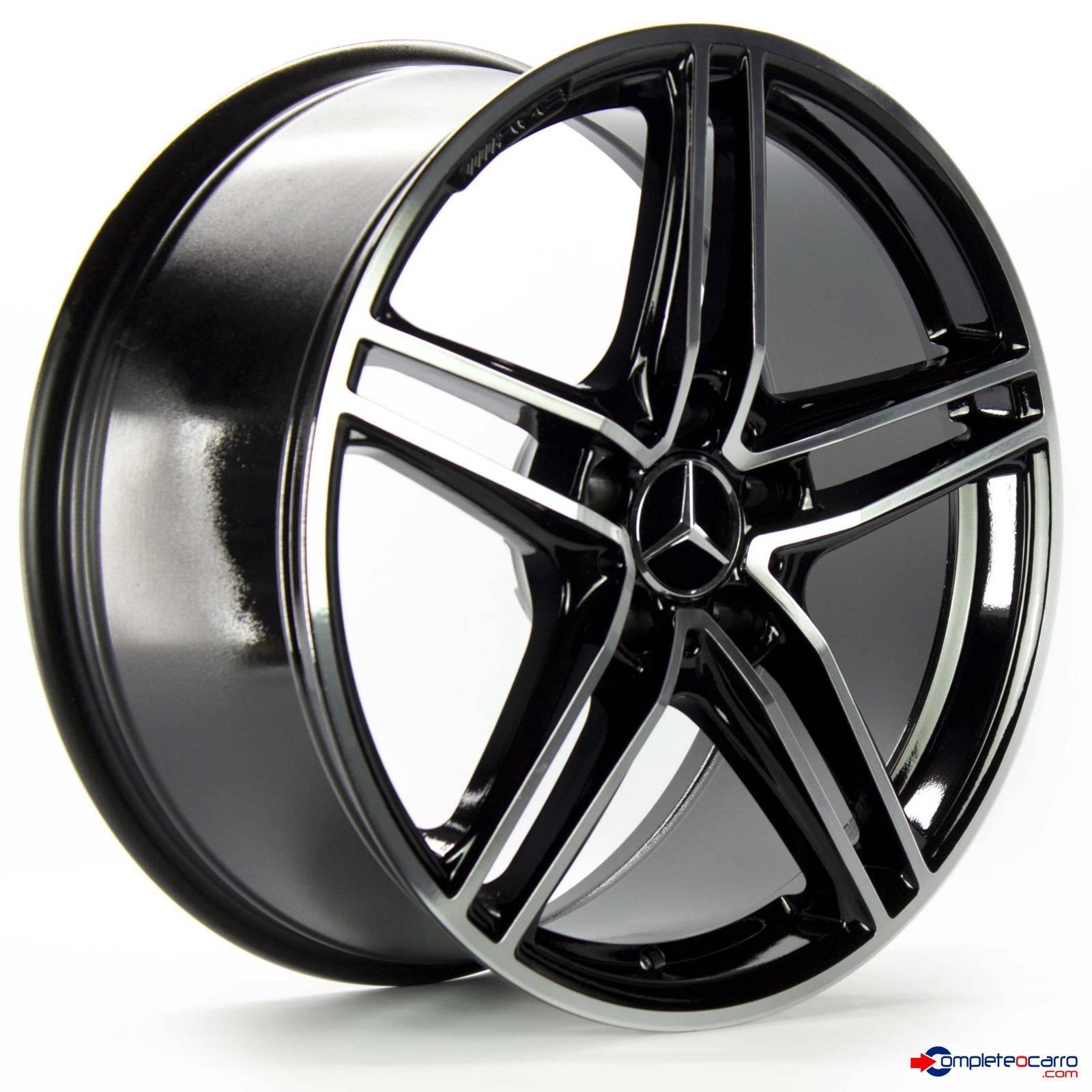 Jogo de Rodas Aro 19' 5x112 Mercedes AMG GT Roadster - DD -