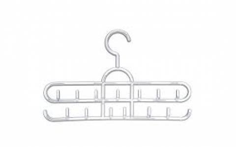 Cabide acrílico para cintos e bijouterias