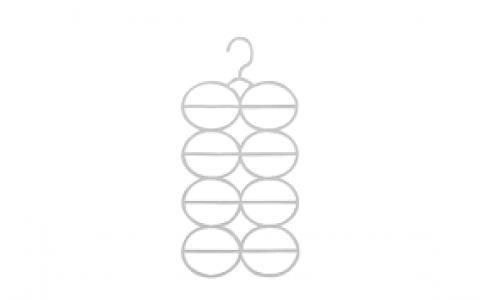 Cabide acrílico para cachecol/echarpes/lenços