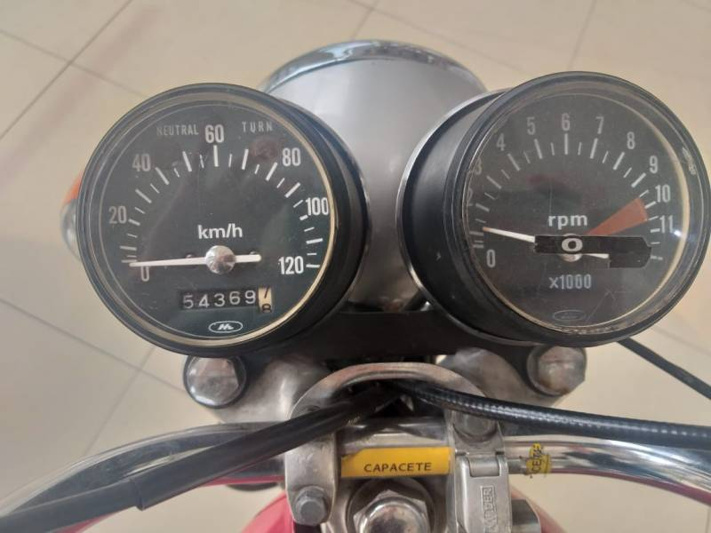 Honda CG 125 Vermelho