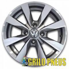 Roda Modelo Gol G6 / Aro: 14X6 - Furação: 4X100 - Cor: Grafite Diamantado