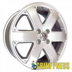 RODA VW PARATI TRACK FIELD / ARO: 15 - FURAÇÃO: 4X100 - COR:  PRATA