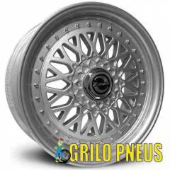 Roda Bbs / Aro: 15 - Furação: 4X100 - Cor: Prata Polida