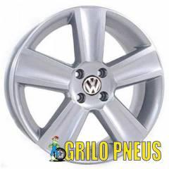 Roda Modelo Saveiro Cross / Aro: 15X6,0 - Furação: 4X100 - Cor: Prata