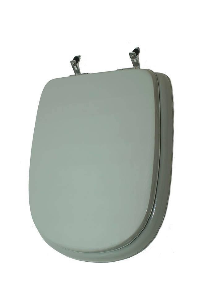 Assento Sanitário Astra Stylus/Primola almofadado Verde água