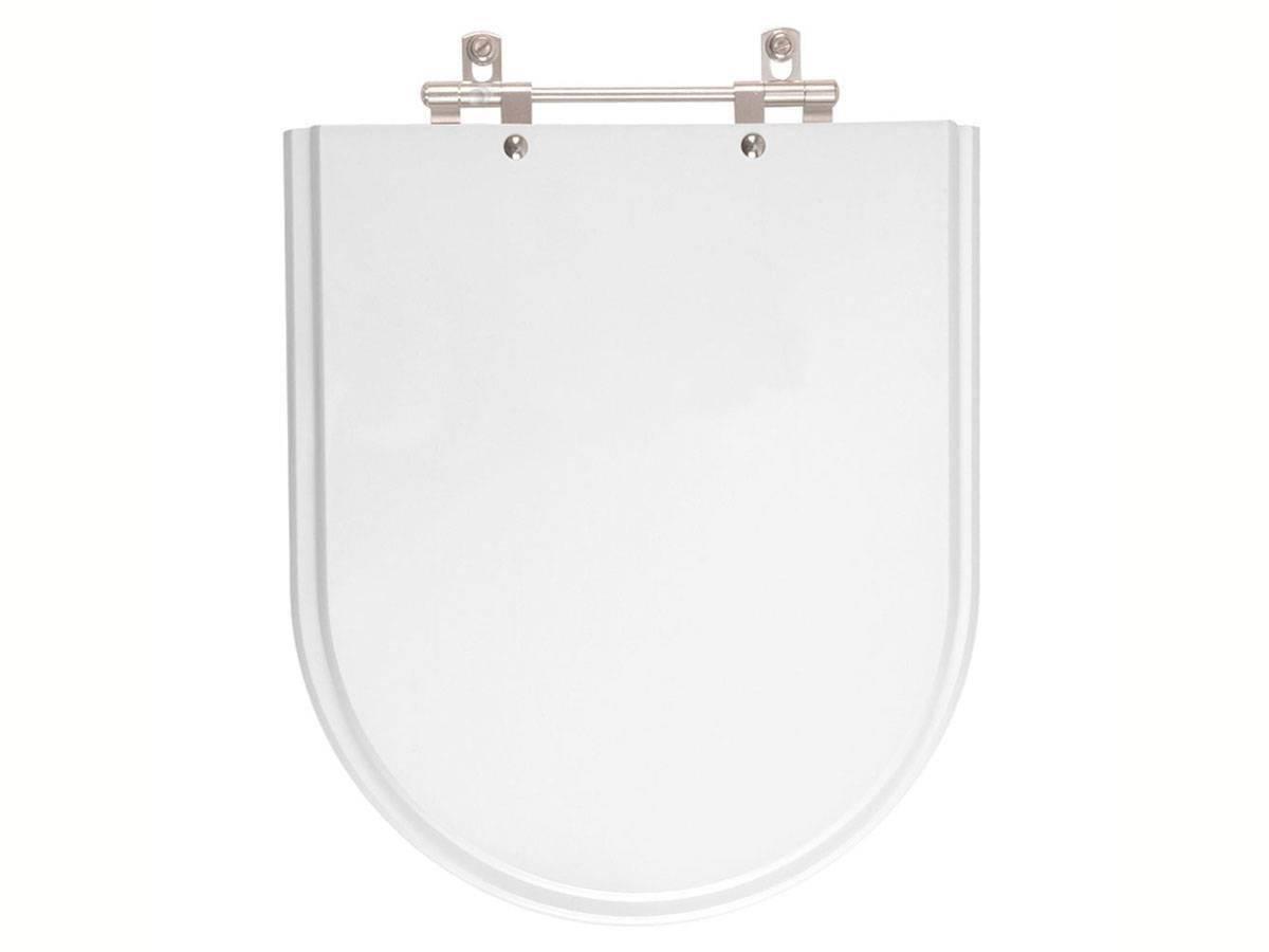 Assento Sanitário Fiori laqueado Flox Branco