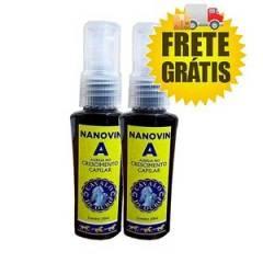 Nanovin A Cavalo de Ouro 30ml 2 Unidades Tonico Crescimento Capilar
