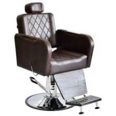 Poltrona Cadeira Barbeiro Caravaggio Reclinável Terra Santa