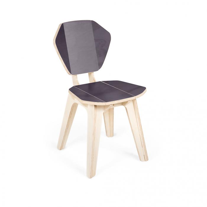 Cadeira Pétala CB GrayFlanne FITTO | Madeira, Design e Arte