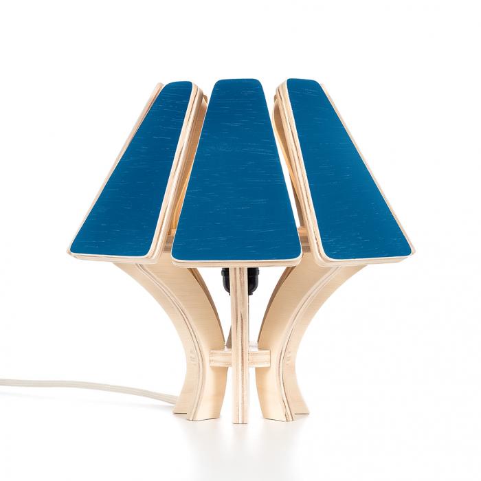 Abajur Mycena CB Princess Blue FITTO Madeira, Design e Arte