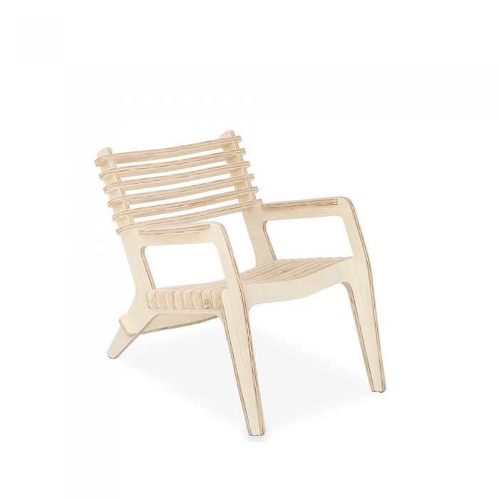 Poltrona Infantil Little Chill Natural   FITTO Kids