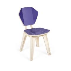 Cadeira Pétala ColorBlock Duo - Ultraviolet