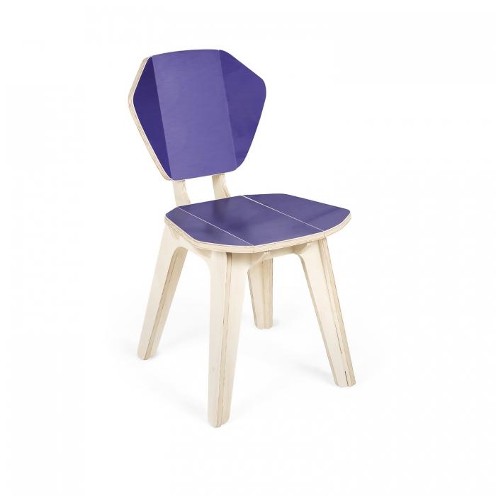 Cadeira Pétala CB Ultraviolet FITTO | Madeira, Design e Arte