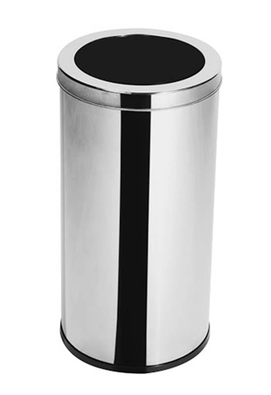 Lixeira Inox  30 litros c/ Aro - Elegance