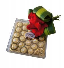 Arranjo Ferrero e  Rosa Colombiana