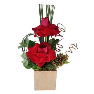 Rosas Natalinas | Florisbella Floricultura