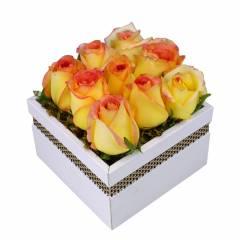 Caixa de Rosas Ambiance
