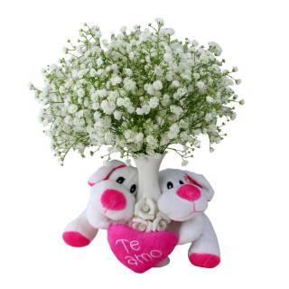 Meu Primeiro Amor Rosa | Florisbella Floricultura