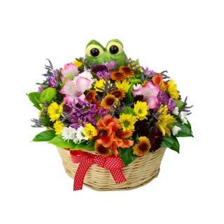 cesta da felicidade | Florisbella Floricultura