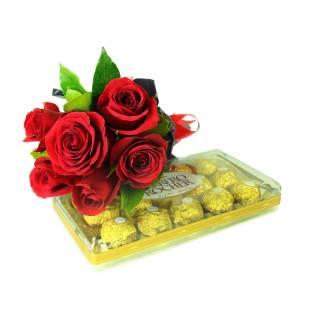 Rosas e Ferrero | Florisbella Floricultura