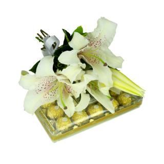Lírios e Chocolates | Florisbella Floricultura