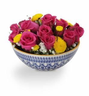 Bowl de Flores | Florisbella Floricultura