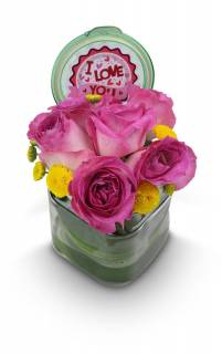 Pote I love you | Florisbella Floricultura