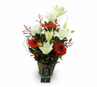 Arranjo Eu te amo | Florisbella Floricultura