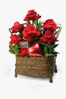 Coração Apaixonante | Florisbella Floricultura