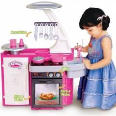 Cozinha Infantil Classic Pia Fogão e Geladeira - Cotiplás 1601 | Noy Brinquedos