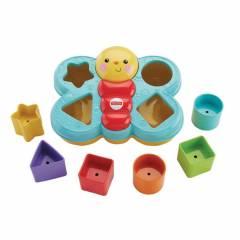 Fisher Price Encaixa Borboleta - Mattel DJD80 | Noy Brinquedos