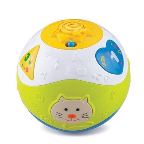 Bola de Atividades Aprender e Brincar - Zoop Toys ZP00052
