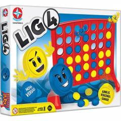 Jogo Lig 4 - Estrela 1201607000013 | Noy Brinquedos