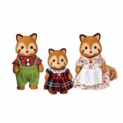 Familia Dos Pandas Vermelhos - Sylvanian Families 5215 | Noy Brinquedos