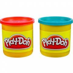 Play-Doh Potes Vermelho e Azul - Hasbro 23656 | Noy Brinquedos