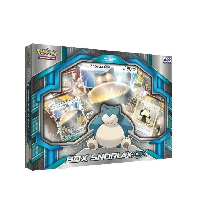 Box Snorlax GX Pokémon - Copag 97472