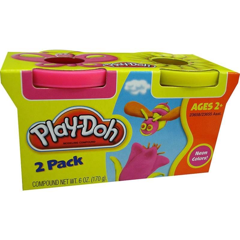 Pets Pote c/2 Play-Doh - Hasbro 23658