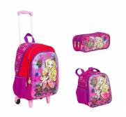 Kit G Mochilete Lancheira e Estojo Ever After High 17X - Sestini 64753