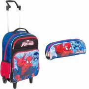 Kit G Mochilete e Estojo Spider-Man Marvel 16Y - Sestini 64219