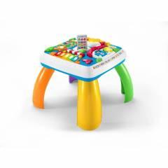 Mesa Bilíngue Cidade Divertida Fisher-Price - Mattel DRH45 | Noy Brinquedos