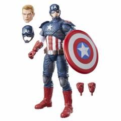 Capitão América 30cm Vingadores Marvel Legends - Hasbro B7433 | Noy Brinquedos