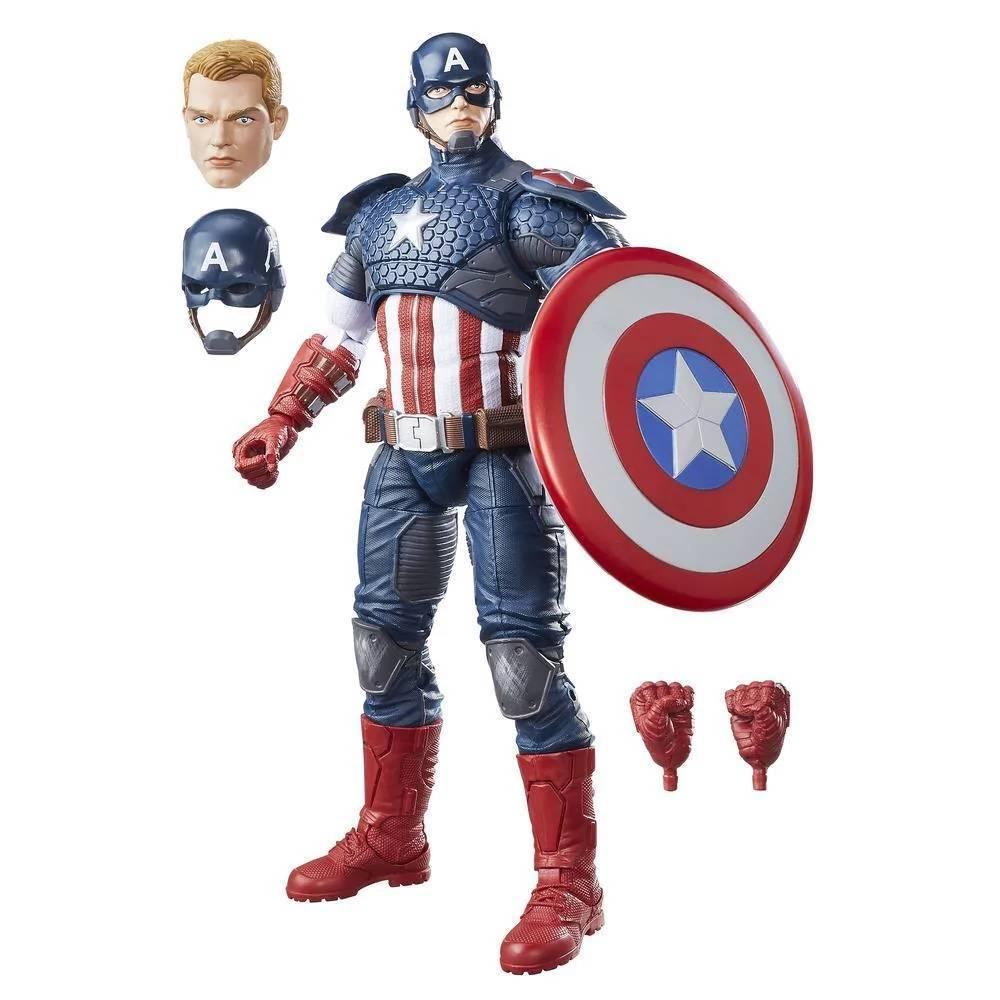 Capitão América 30cm Vingadores Marvel Legends - Hasbro B7433