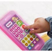 Rosa Telefone Emojis Fisher-Price - Mattel FHJ20