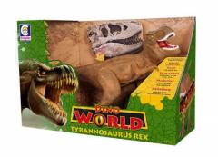 Tyrannosaurus Rex 42 cm Dino World com Som - Cotiplás 2088 | Noy Brinquedos