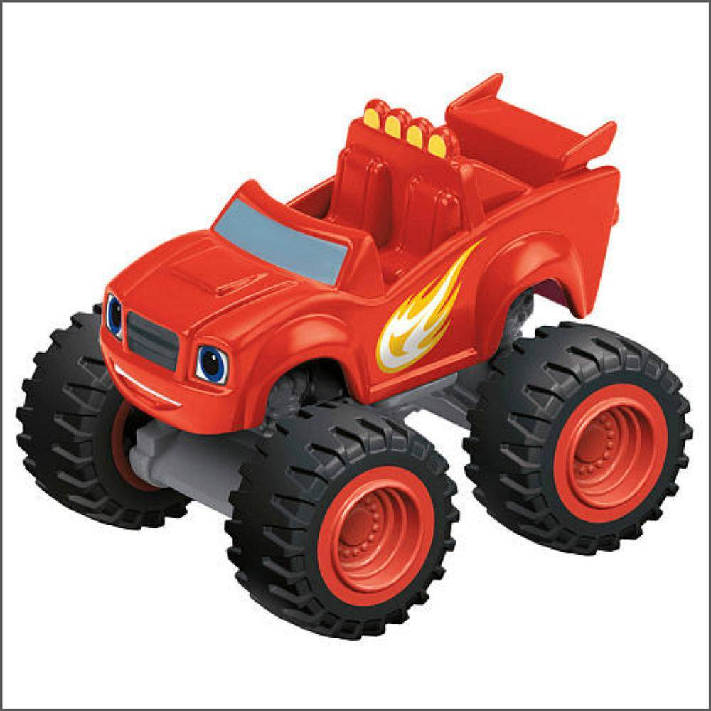 Blaze Monster Machines Veículo Básico Fisher-Price - Mattel DKV83