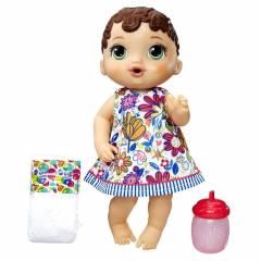 Morena Hora do Xixi Baby Alive - Hasbro E0499 | Noy Brinquedos