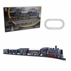 Locomotiva Real Train - ZOOP ZP00170 | Noy Brinquedos
